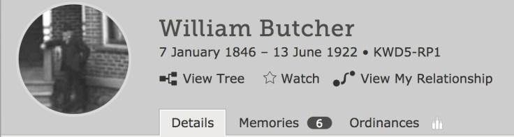 Read memories of your ancestors in FamilySearch's Family Tree.