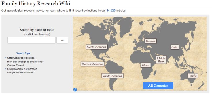 Use the FamilySearch wiki to find more info about your ancestors