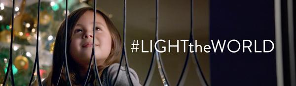 #LIGHTtheWORLD in 25 ways over 25 days.