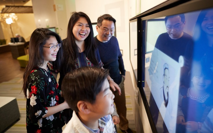 Family group enjoys discovery experiences at Family History Library