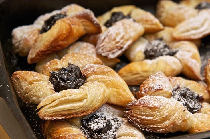 finnish pinwheel pastries