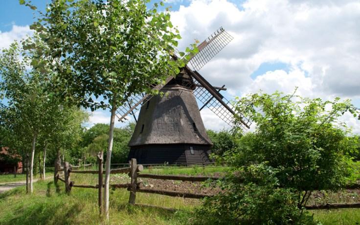 Funen Village windmill in Denmark