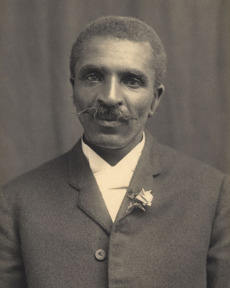 a picture of George Washington Carver.