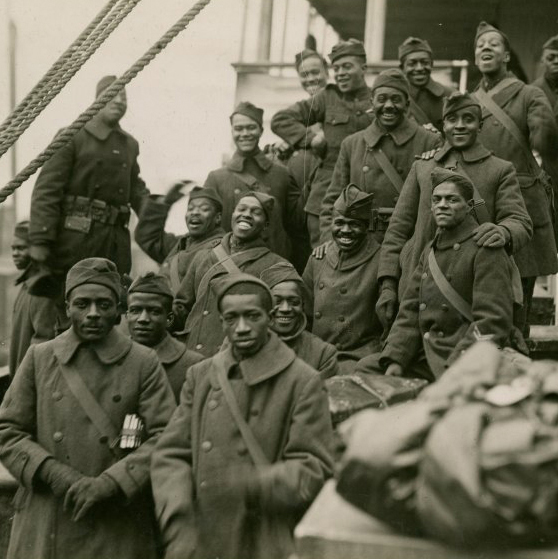 Learn about the lives of African American soldiers in WW1.