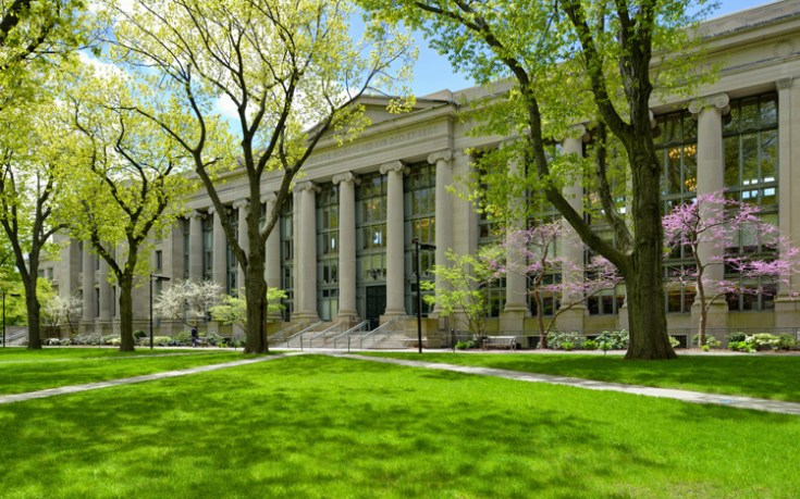 Harvard law school building