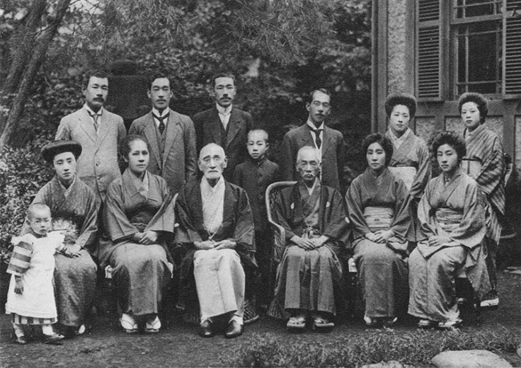 a historic japanese family