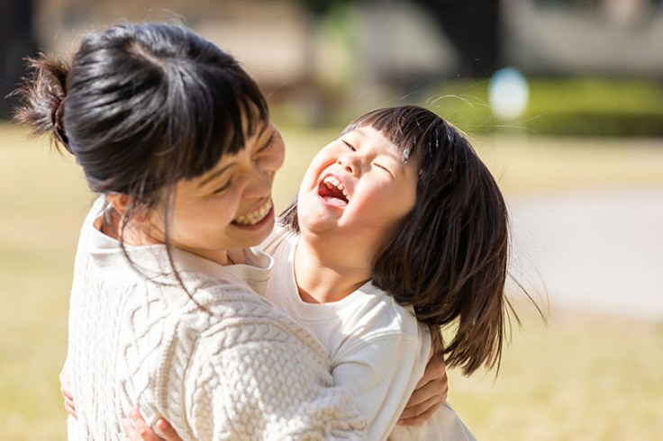 a japanese mother and daughter