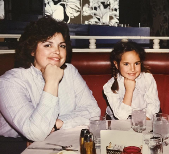 Jen Allen as a young girl