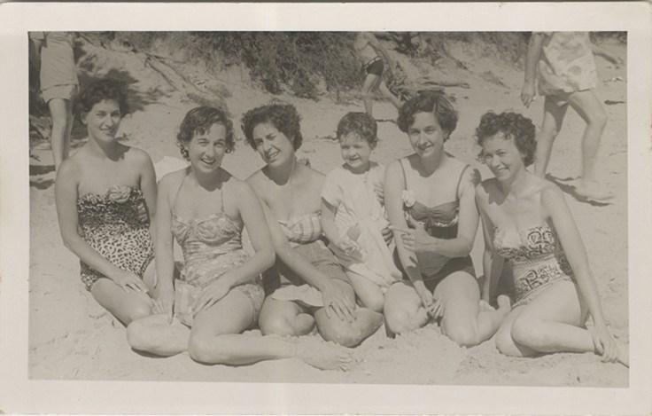 a historic family photo of Jill's.
