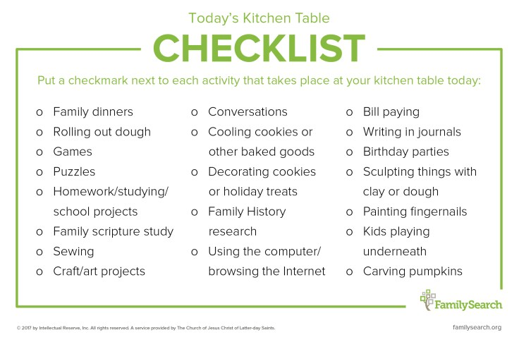 Kitchen tables aren't just for eatings meals together! Learn how to make the most of your family time around the table.