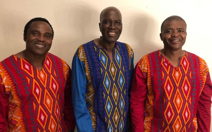 Members of the A Capella group Ladysmith Black Mambazo.
