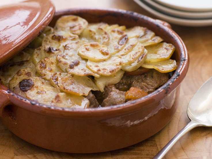 lancashire hot pot, a traditional english dish.