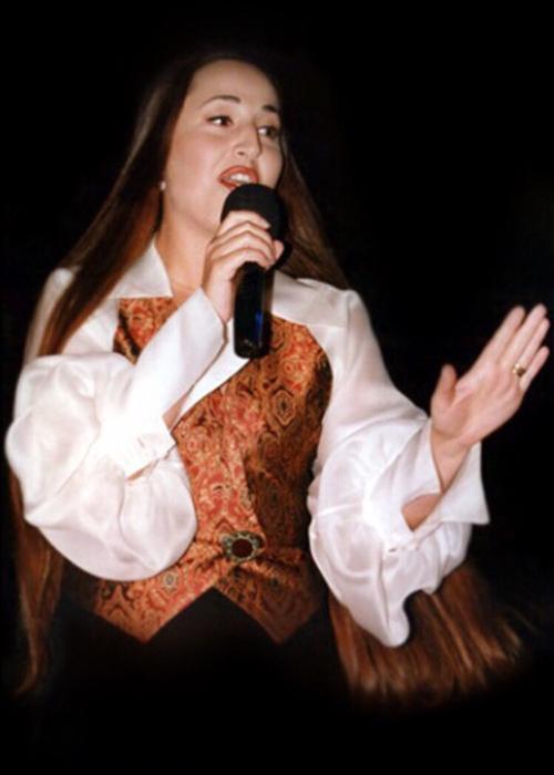 Lydia Caan, an international middle eastern star.