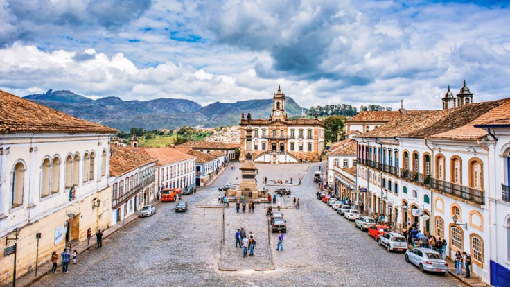 Ouro Preto. A favorite thing to do in Brazil is visit this mining town.