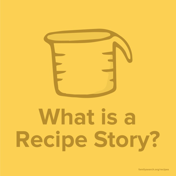 Discovery your family's heritage recipe story
