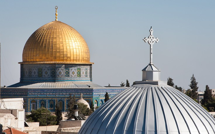 two middle eastern churches