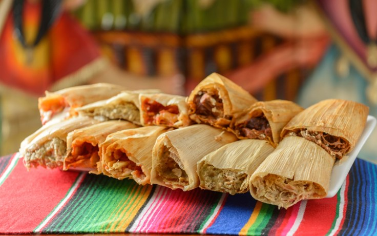 Tamales, a tasty food to eat in Mexico