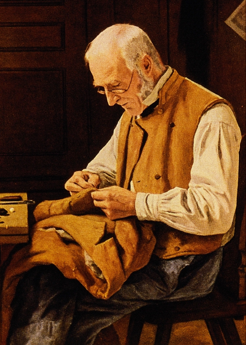 a tailor, much like the origin of the surname Taylor