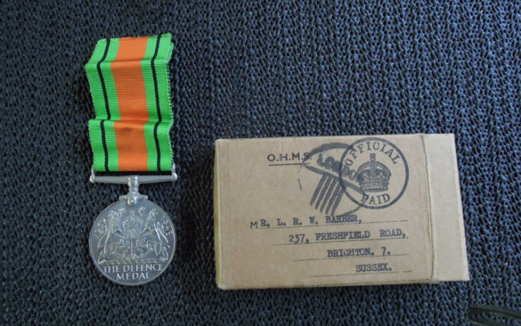 WW2 medal, a unique type of military record