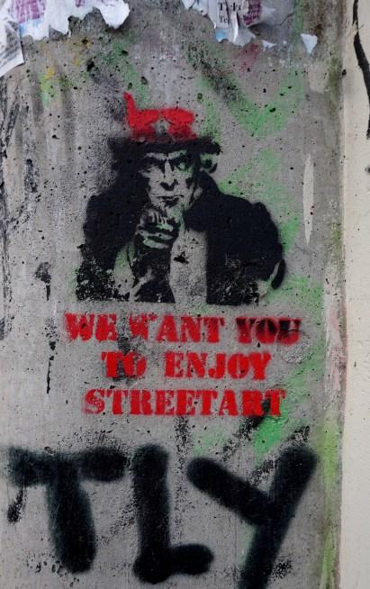 enjoy street art