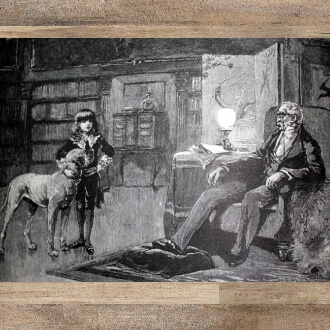 Little Lord Fauntleroy: Birch illustration