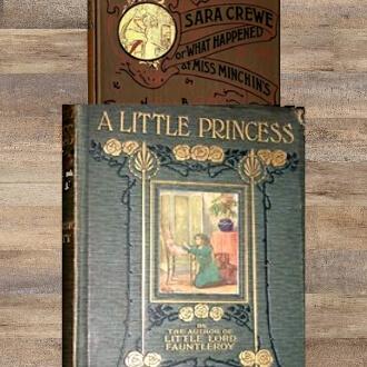 A Little Princess & Sara Crew Books