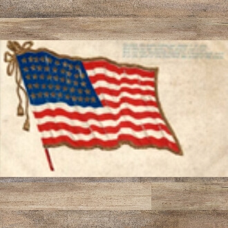 Flag Postcard 1900's