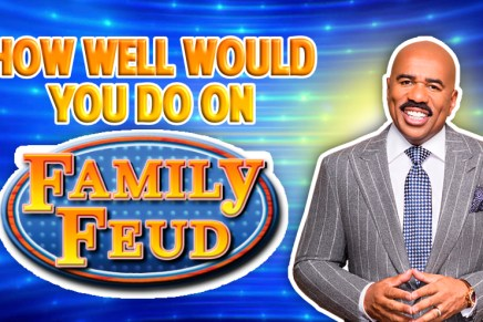 Are You Good Enough To Win Family Feud?