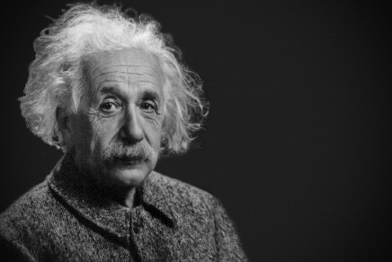 Einstein's Brilliance in the Discovery of Gravitational Waves