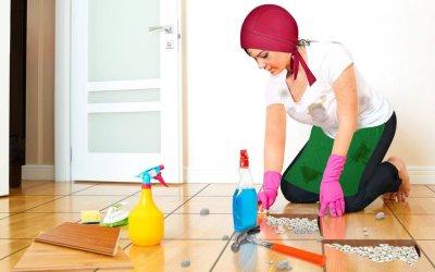طرق النظافة الداخلية للمنشآت