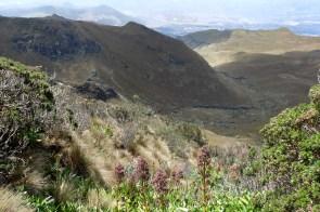 Rucu Pichincha - Blick nach Kolumbien