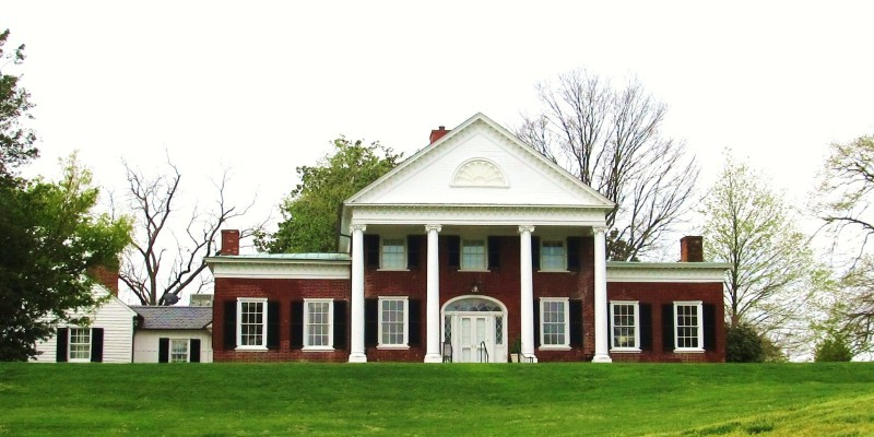 This is Brompton as we see it today, now the home of the President of the University of Mary Washington. (13)
