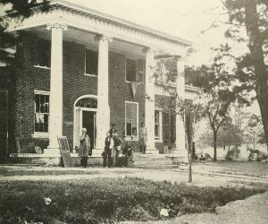 Pictured is Brompton in 1862, this was taken around the time of the Battle of Fredericksburg.