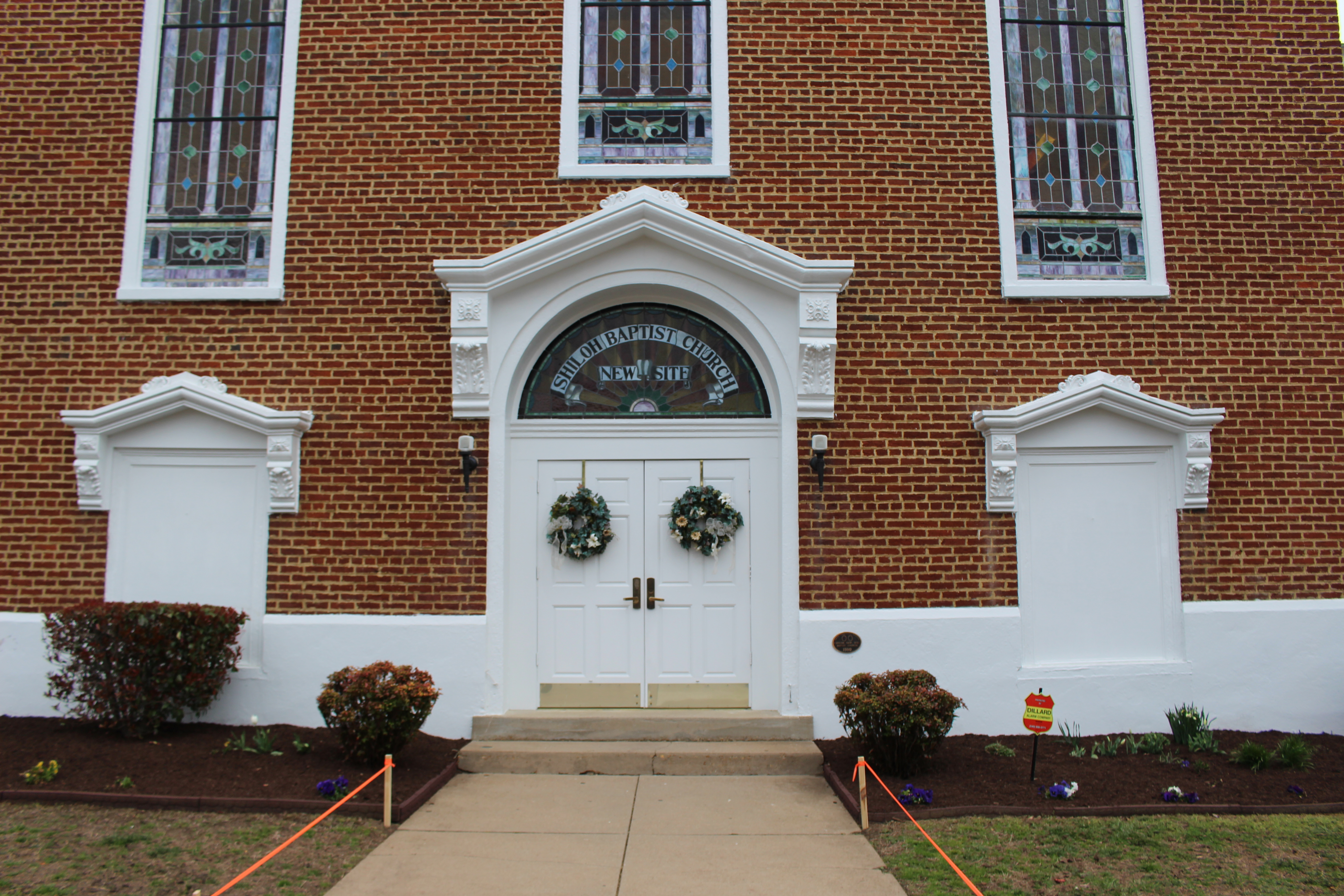 Pictured here is Shiloh Church, New Site
