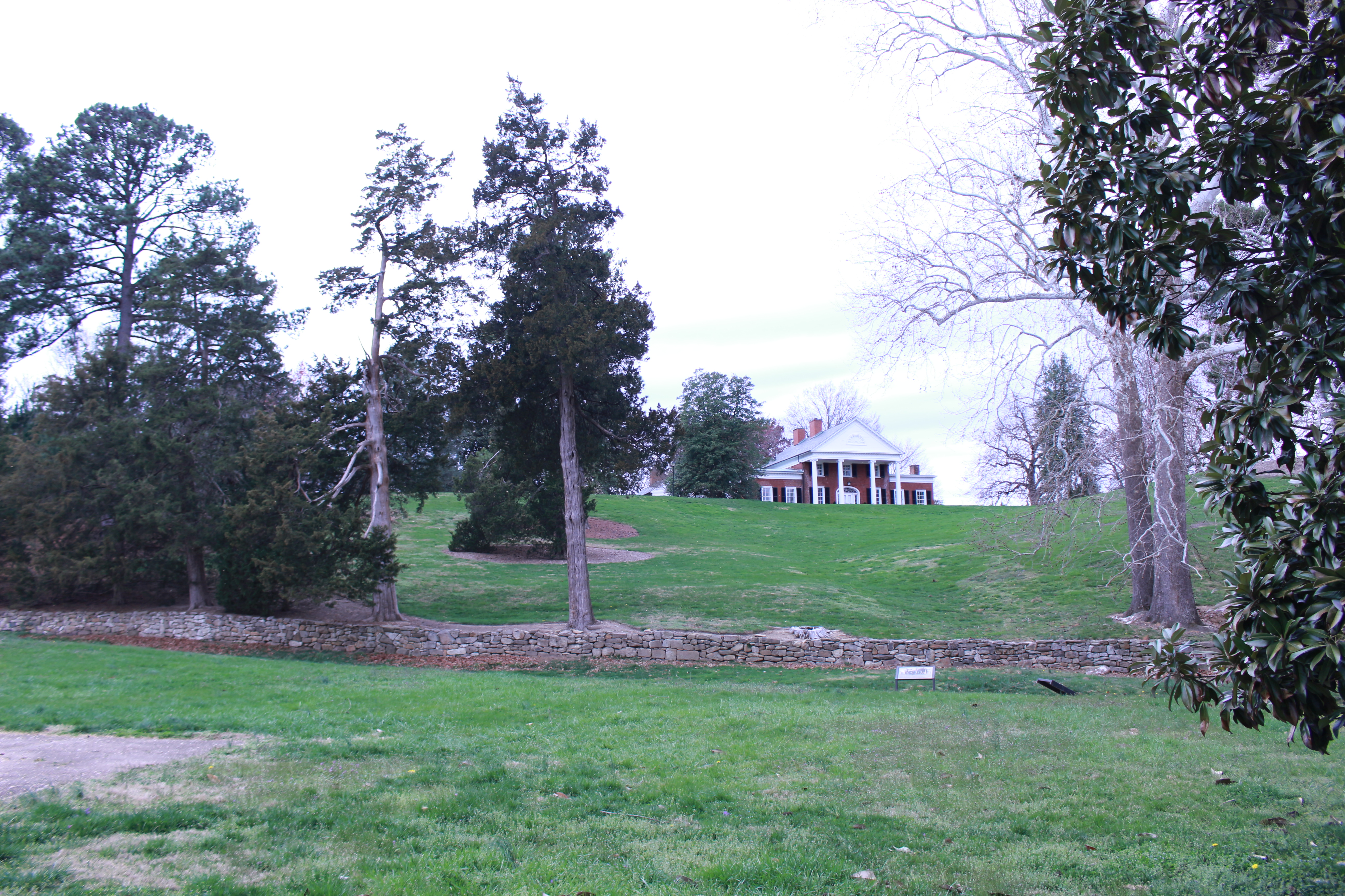 Pictured is Brompton viewed from the Sunken Road trail