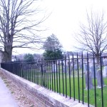 Pictured here is the confederate cemetery viewed from Williams Street