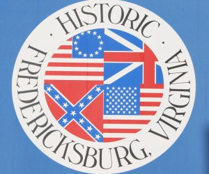 Pictured here is the city seal for Fredericksburg Virginia