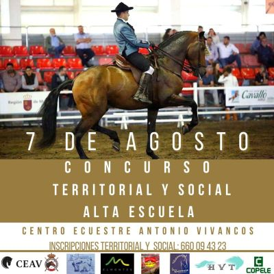CAET 7 de agosto Centro ecuestre Antonio Vivancos