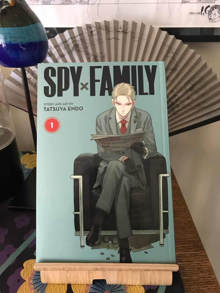 "Photo of volume one of ""Spy x Family"" by Tatsuya Endo."