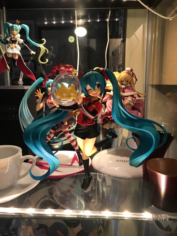 Photo of a Hatsune Miku x Taito Game Station figure.