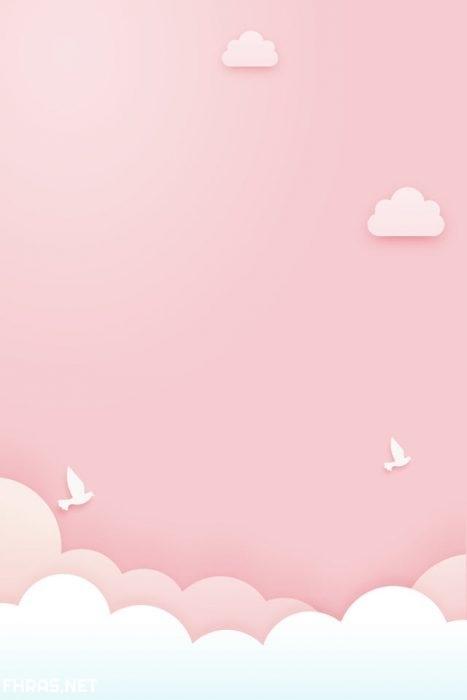 وردية ايفون باللون الوردي وردية ايفون خلفيات كيوت