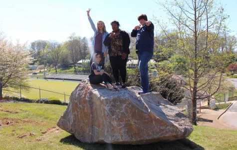 FHS Gets Spirit Rock