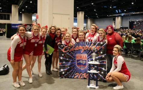 JV Cheer State Champions