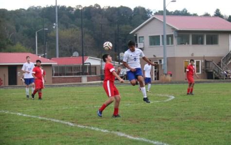 JV soccer .vs. Brevard
