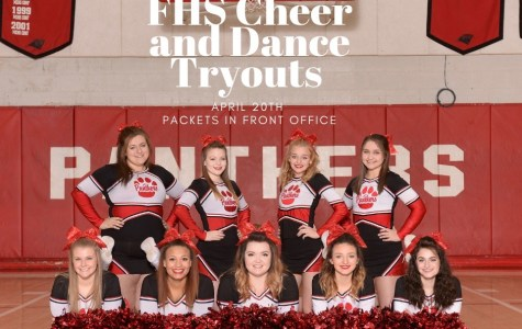 Cheer and Dance Tryouts