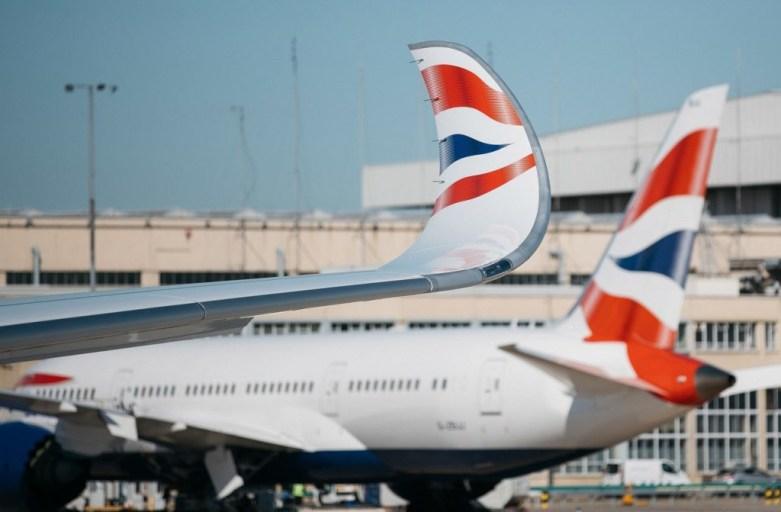 British Airways first Airbus 350 touches down at London Heathrow