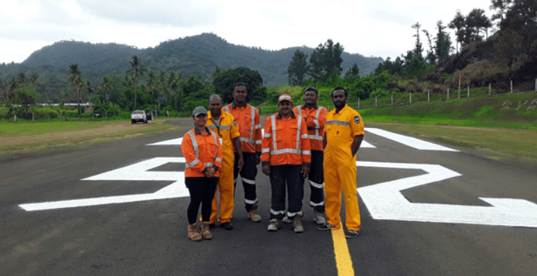 Fiji Airports welcomes 1st flight into newly refurbished Bureta Airport Runway in Levuka