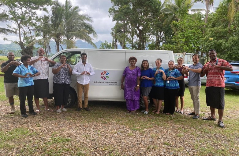 Marriott foundation extend support to Loloma Home & Care Centre, Lautoka