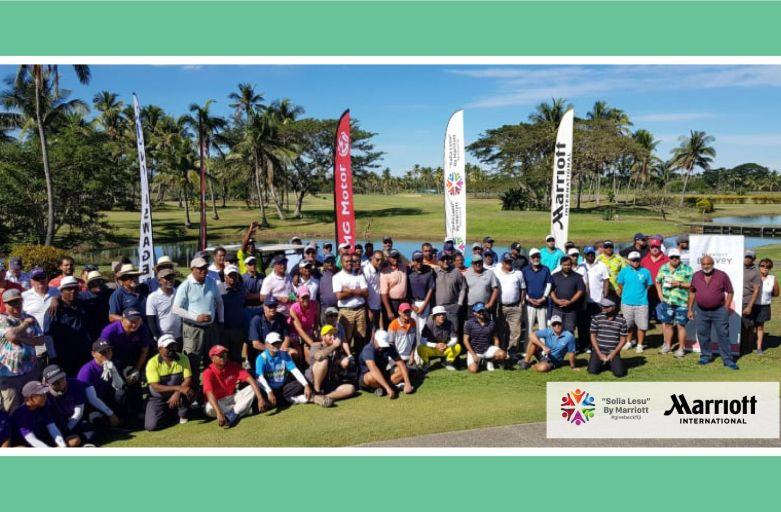 Successful Golf Tournament in Support of Marriott Resorts' 'Solia Lesu'