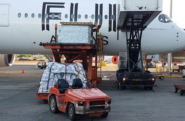 Fiji Airways brings in 17 tonnes of relief supplies donated by New Zealand